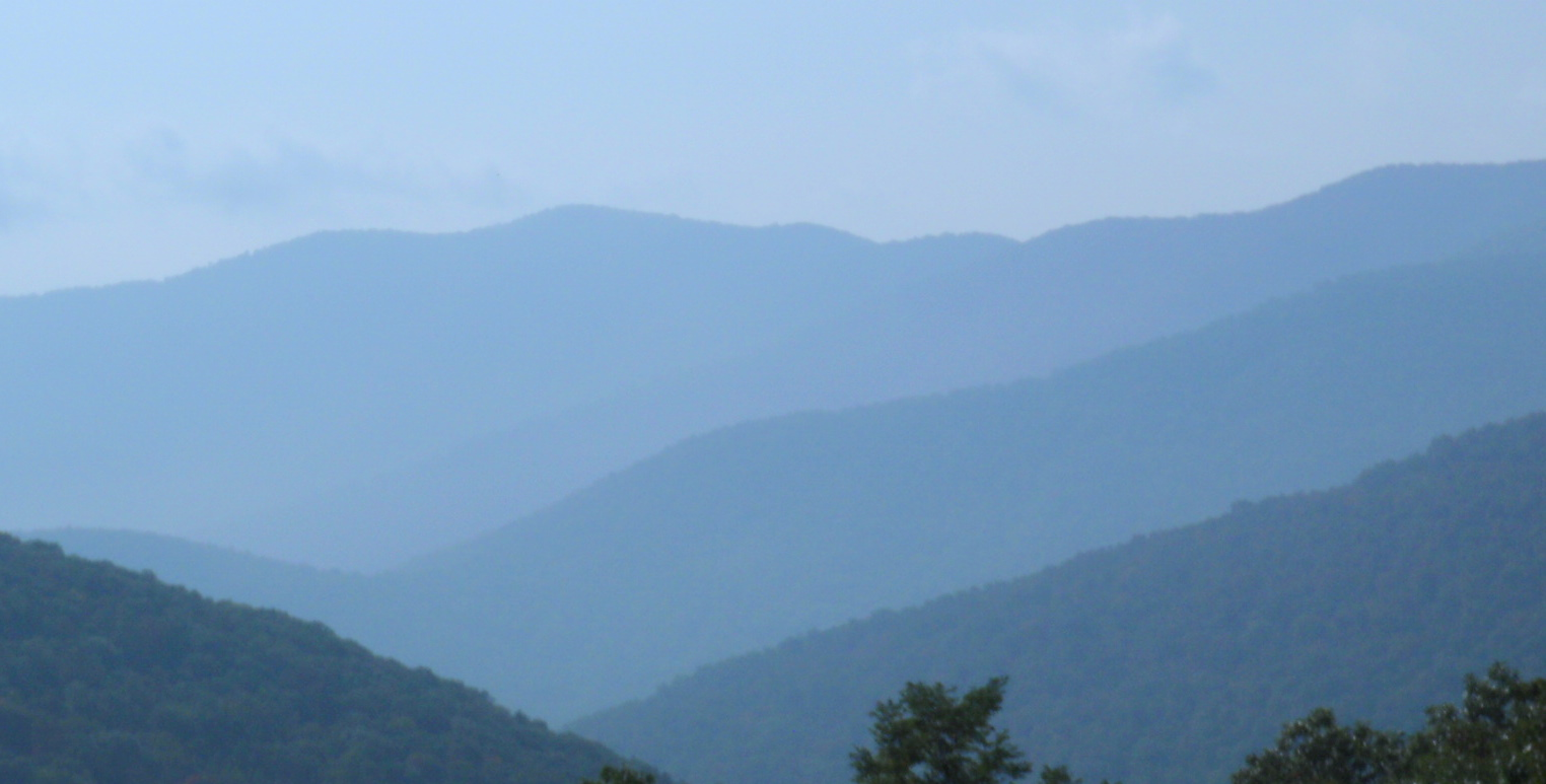 So, Why is it called the Blue Ridge Mountains?
