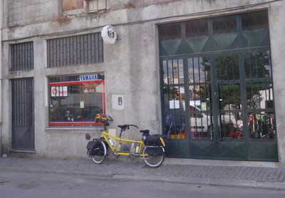 Combination Bicycle and Motorcycle Shop.