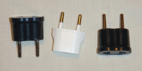 Carry 3-4 Electrical Outlet Adapters for the Country(ies) Visited.